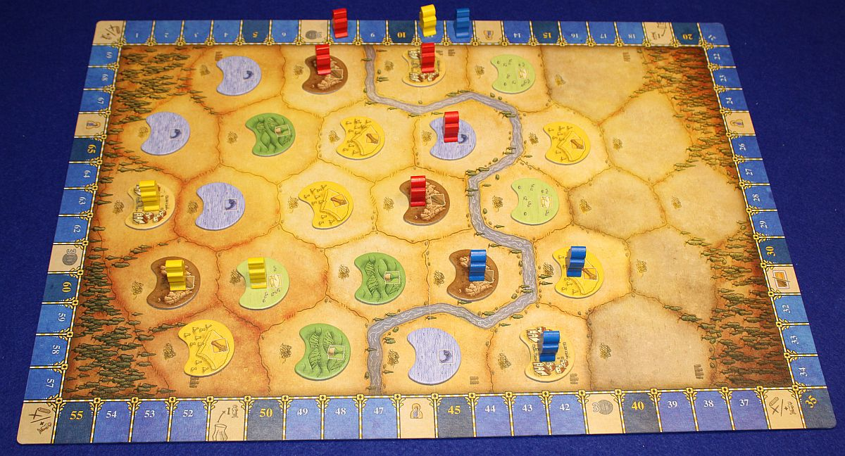 Orleans Stories - Spielplan
