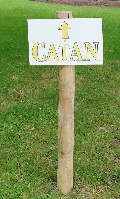 Catan Mainau 2020 - Wegweiser
