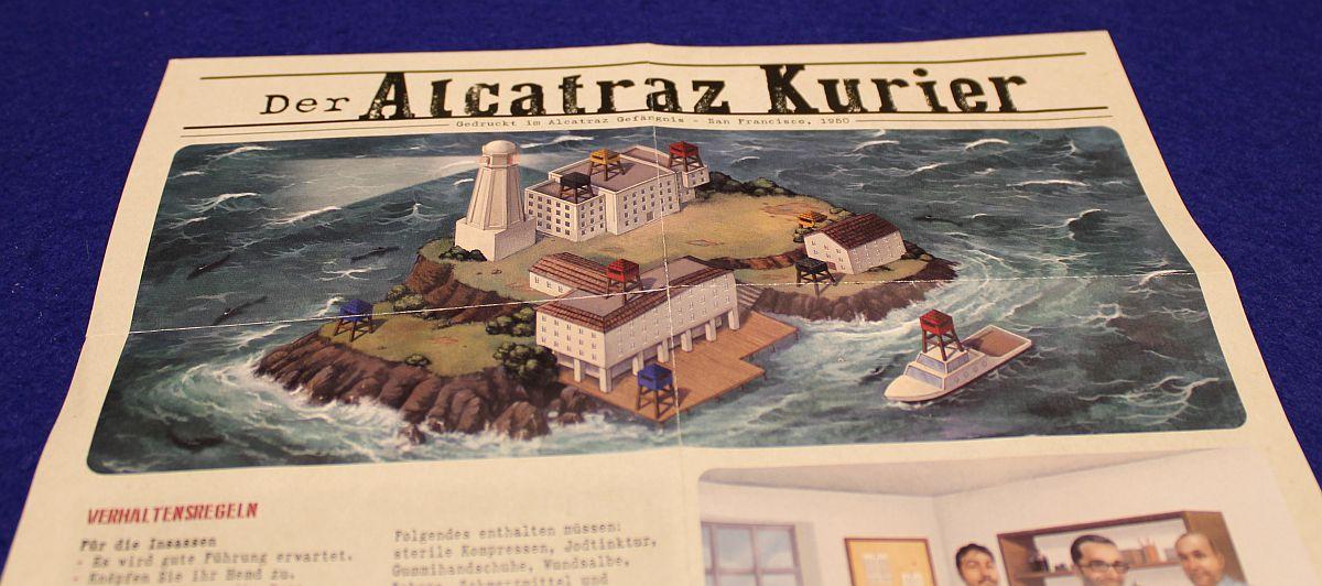 Deckscape - Flucht aus Alcatraz - Kurier
