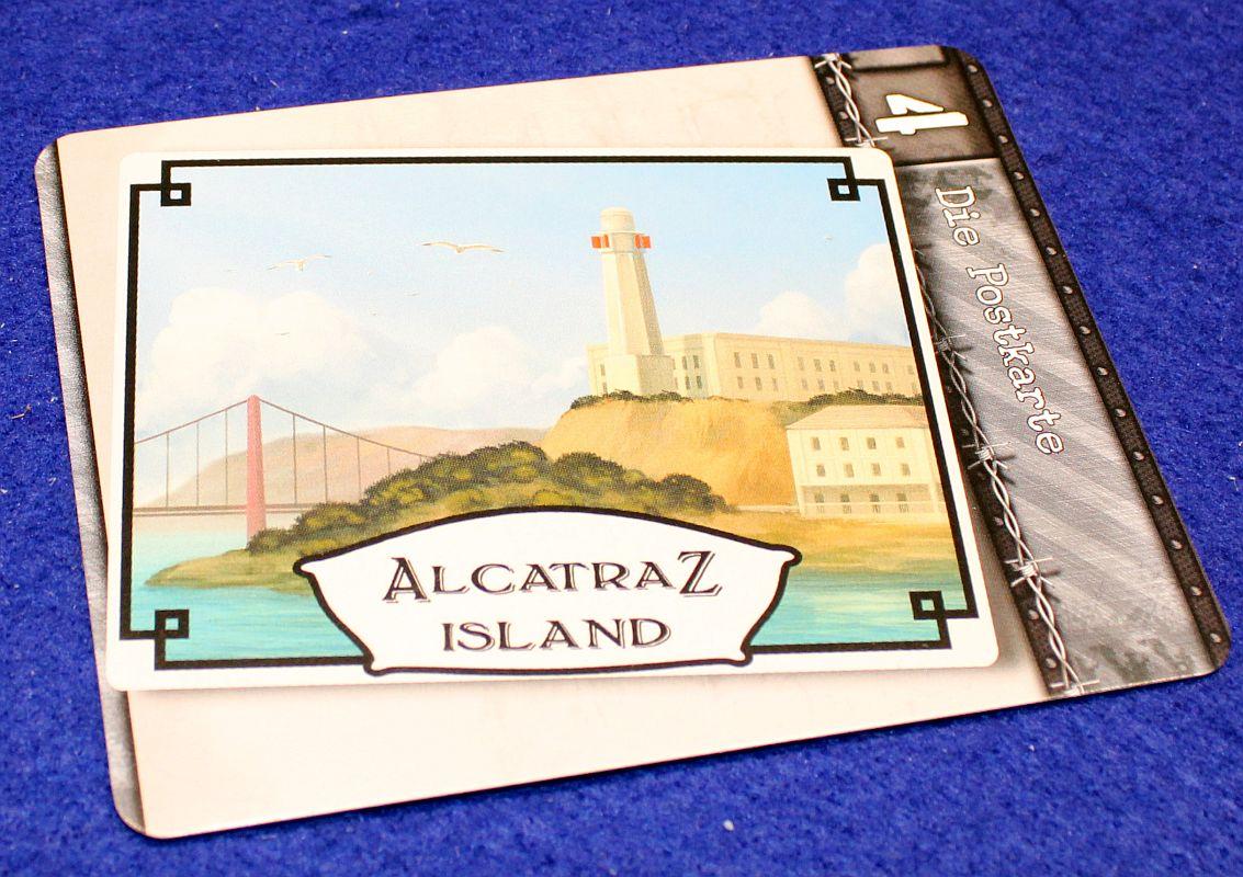 Deckscape - Flucht aus Alcatraz - Postkarte