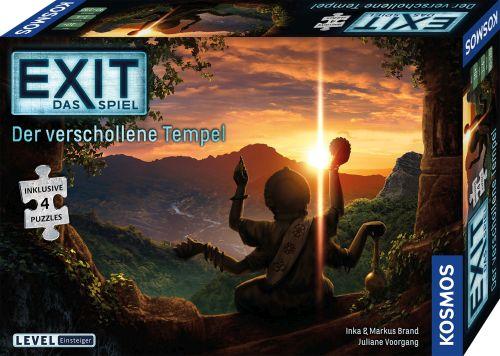 Exit-Spiel-Puzzle - Der verschollene Tempel - Box