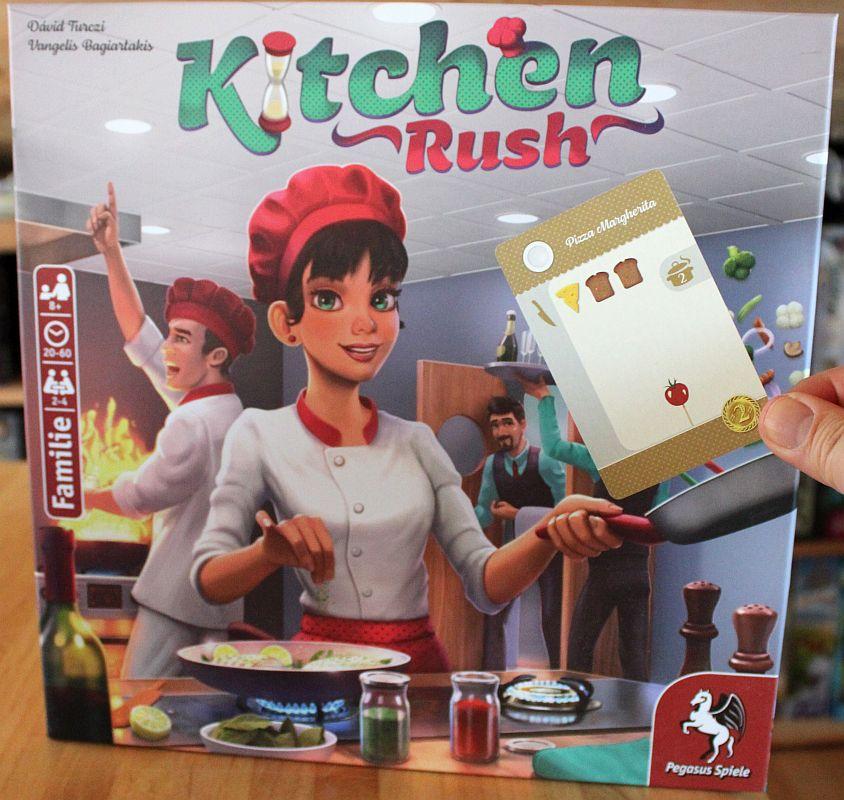 Kitchen Rush - Pizza Margherita