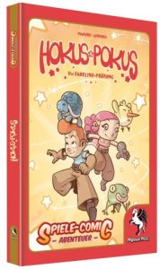 Spiele-Comic Hokus Pokus - Die Fabilino Prüfung - Cover