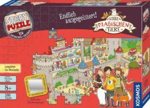 Story Puzzle Die Schule der magischen Tiere - Endlich ausgegeistert - Box
