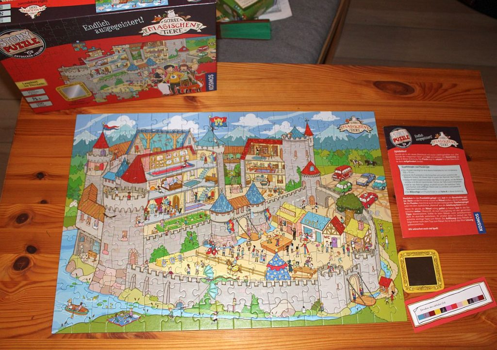 Story Puzzle Die Schule der magischen Tiere - Endlich ausgegeistert - Übersicht