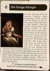 The Kings Dilemma - Celestina Ende der Geschichte