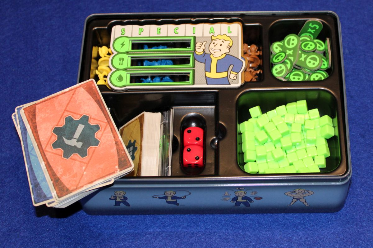 Fallout Shelter - Inlay