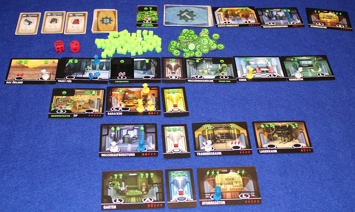 Fallout Shelter - Spielsituation