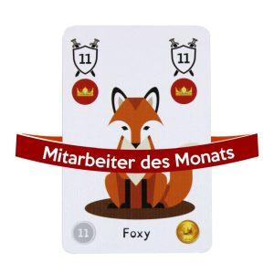 Mitarbeiter des Monats - Foxy