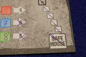 Safehouse - Das Würfelspiel - sicher