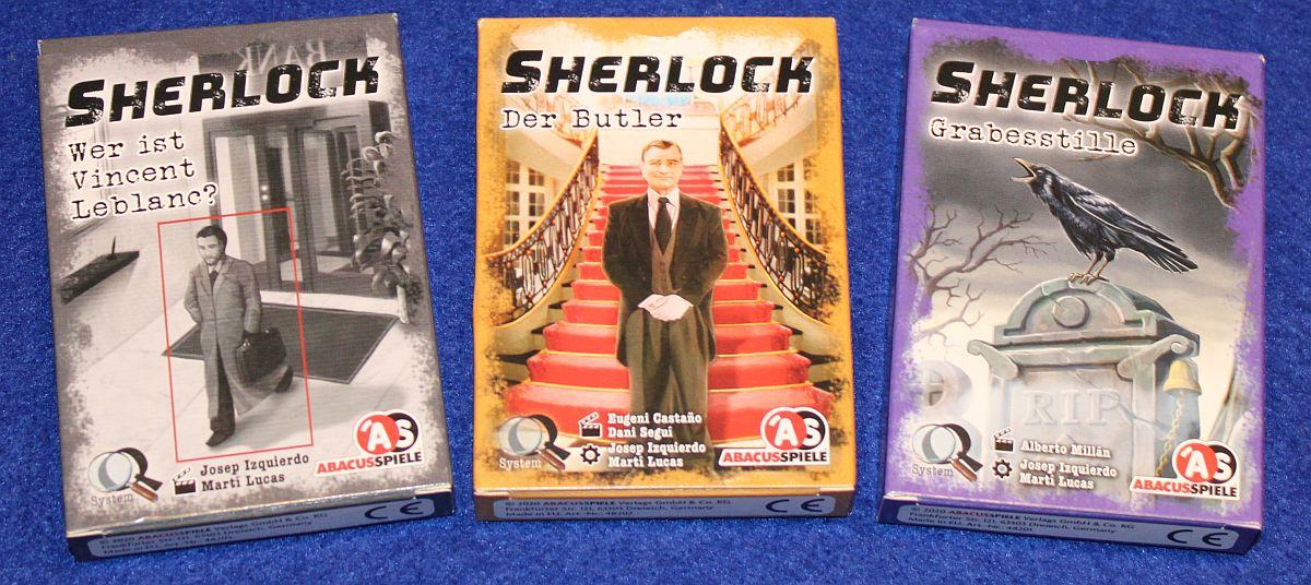 Sherlock 7-9 - Übersicht