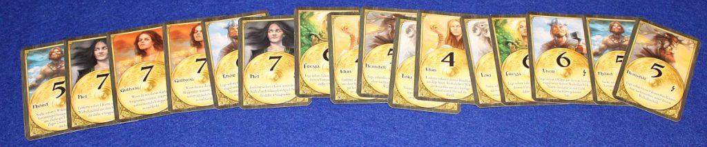 Wikinger Saga - Götterkarten
