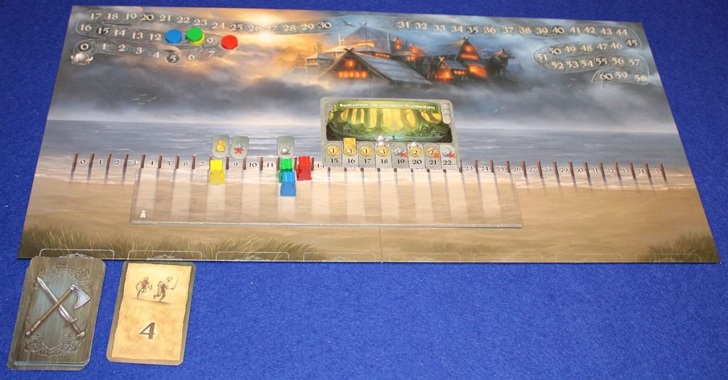 Wikinger Saga - Spielplan