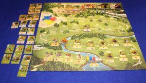Caylus 1303 - Spielplan