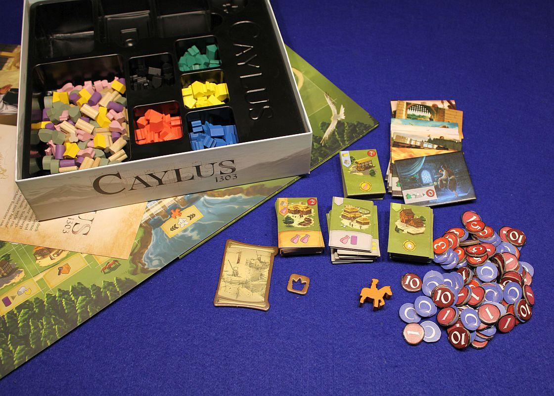 Caylus 1303 - Übersicht