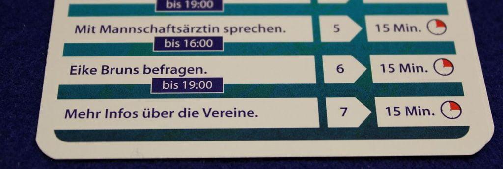 Crime Story Munich - Optionen