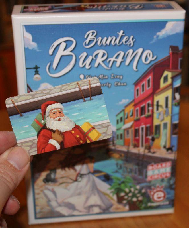 Buntes Burano - Santa Claus