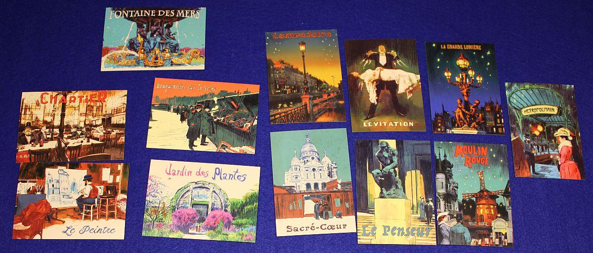 Paris - Stadt der Lichter - Postkarten