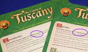 The Castles of Tuscany - Unterschiede