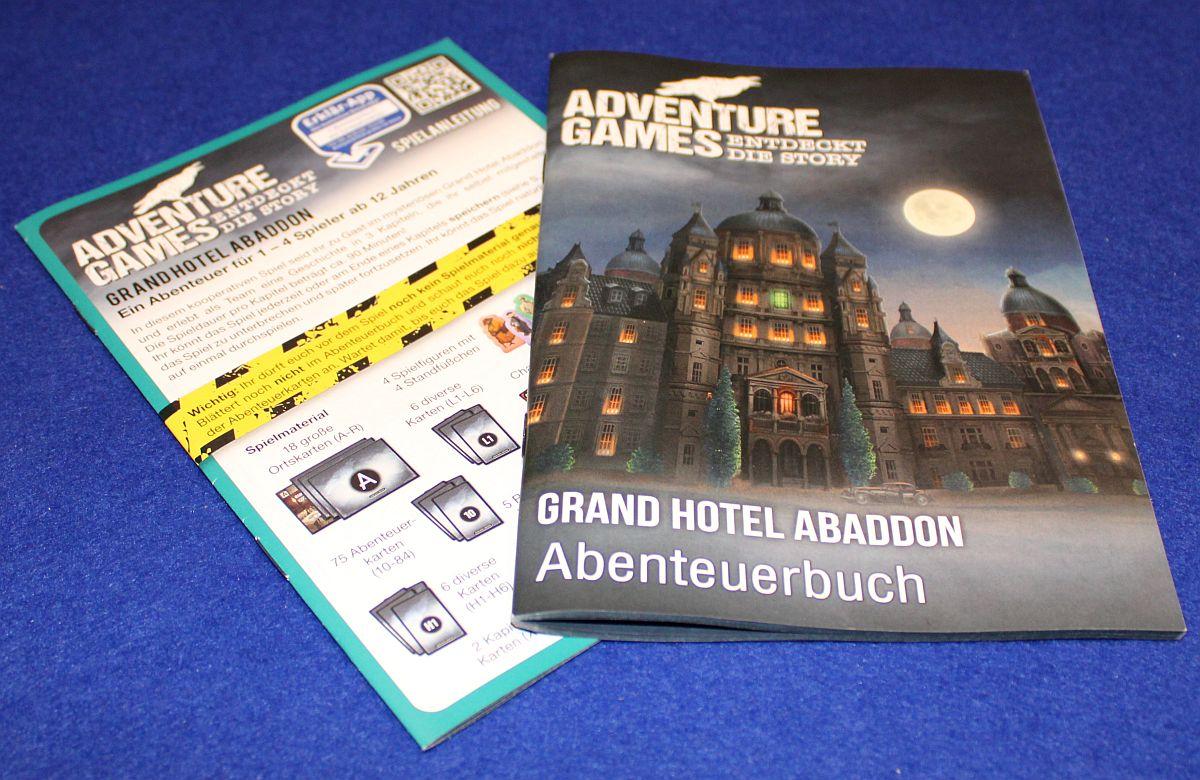 Grand Hotel Abaddon - Abenteuerbuch