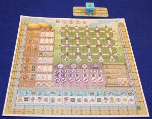 Rajas of the Ganges - The Dice Charmers - im Spiel