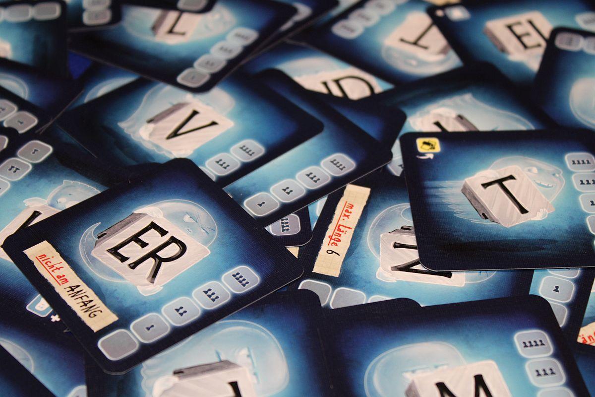 Spukstaben - Karten