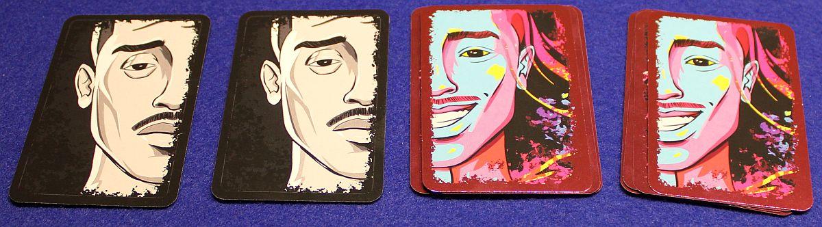 Anansi - Gesichter