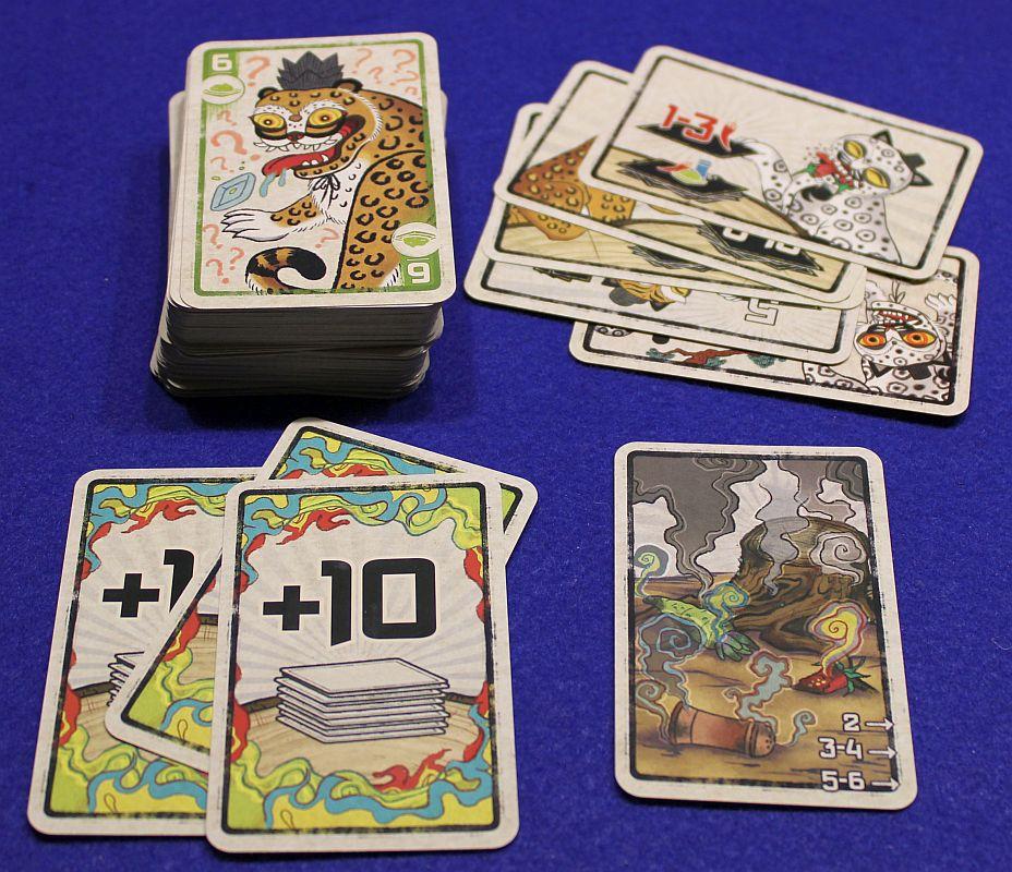 Spicy - Kartentypen