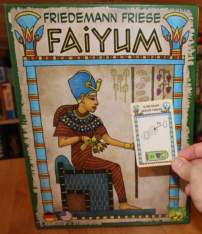 Faiyum - Alter Bauer