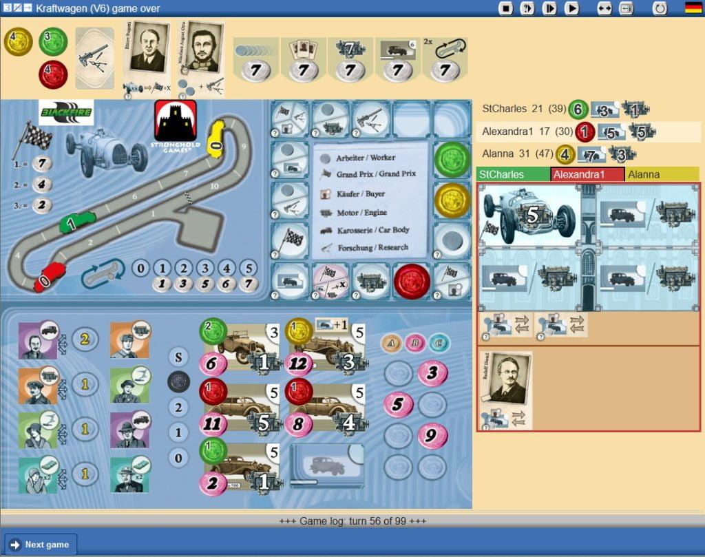 Kraftwagen - Screenshot