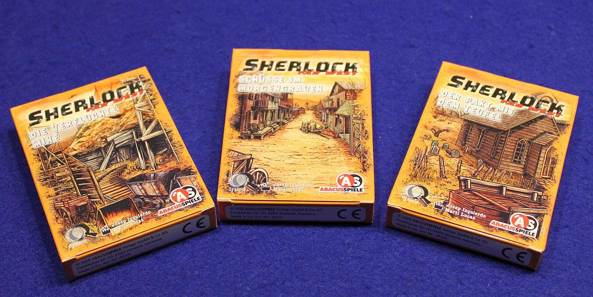 Sherlock Far West – Boxen