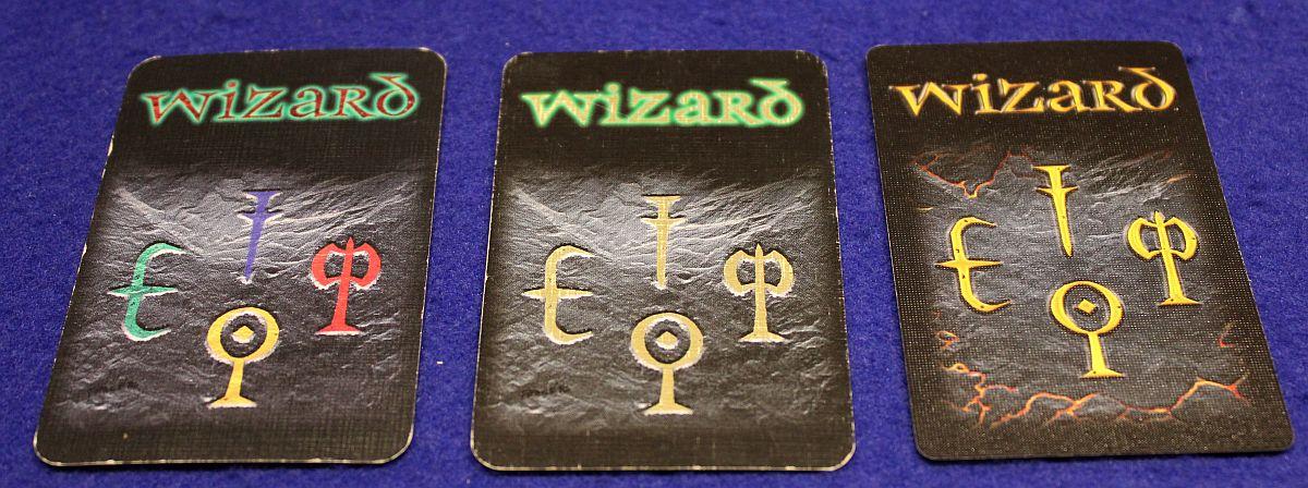 Wizard - Sonderedition 25 Geburtstag - Kartenrückseiten