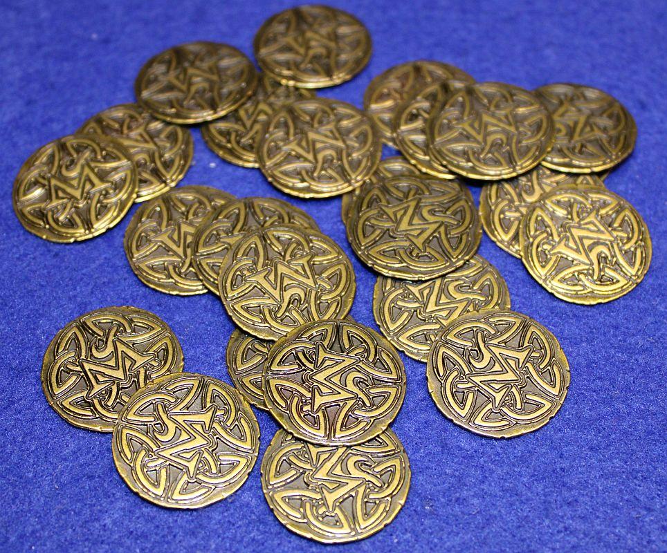 Wizard - Sonderedition 25 Geburtstag - Münzen