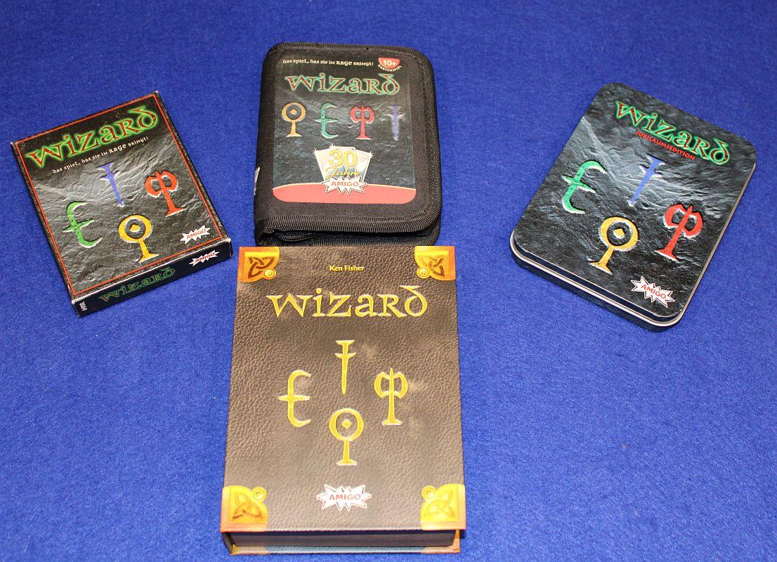Wizard - Sonderedition 25 Geburtstag - Vergleich