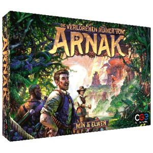 Die verlorenen Ruinen von Arnak - Box
