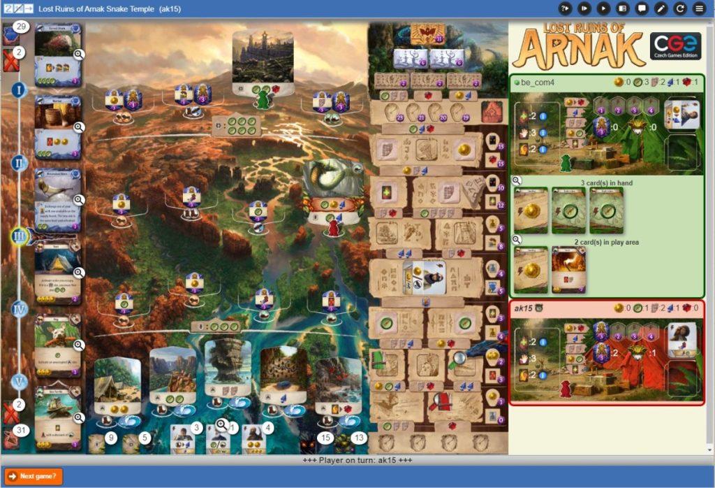 Die verlorenen Ruinen von Arnak - Yucata Screenshot