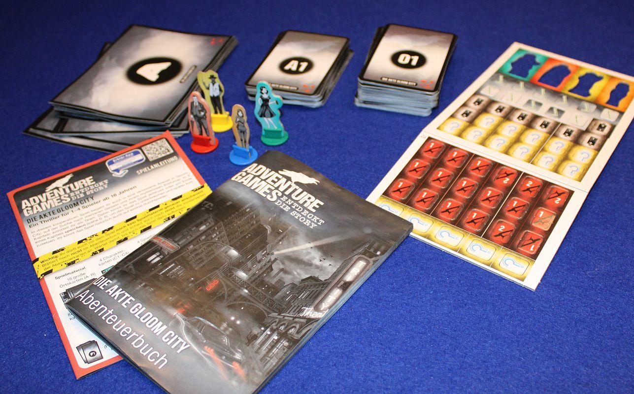 Adventure Games - Die Akte Gloom City - Abenteuerbuch