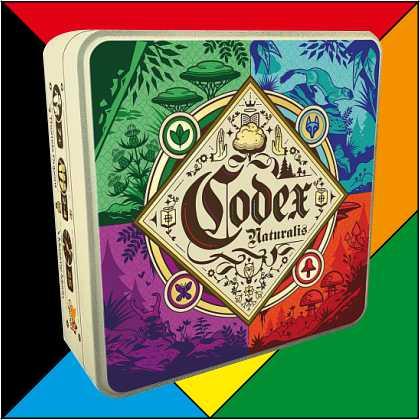 Codex Naturalis vor Spiel Logo