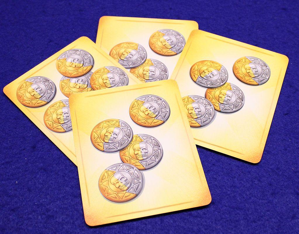 Deckscape - Die Pirateninsel - Münzen